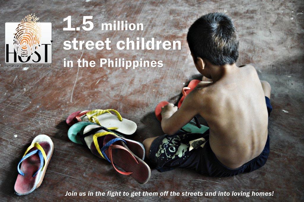 Remove 500 Filipino children from the streets