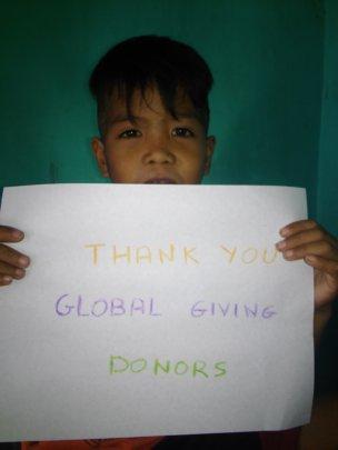 Thank You GlobalGiving
