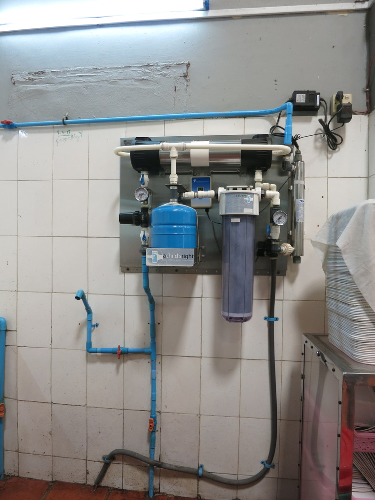 the UV water filter system