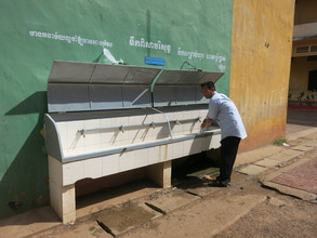 teachers & community can access filtered water too