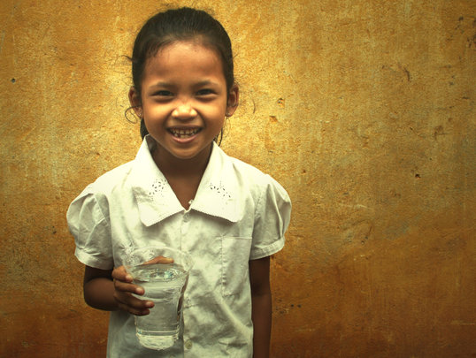 Clean water leads to bright smiles!