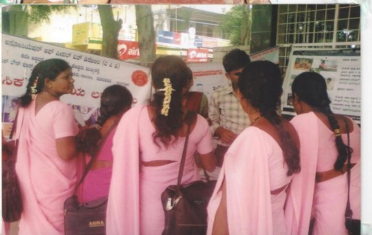 StreetExhibition to create awareness about PWMI