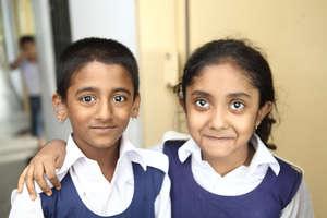 You're helping Nijhum (left) and Ikra succeed.