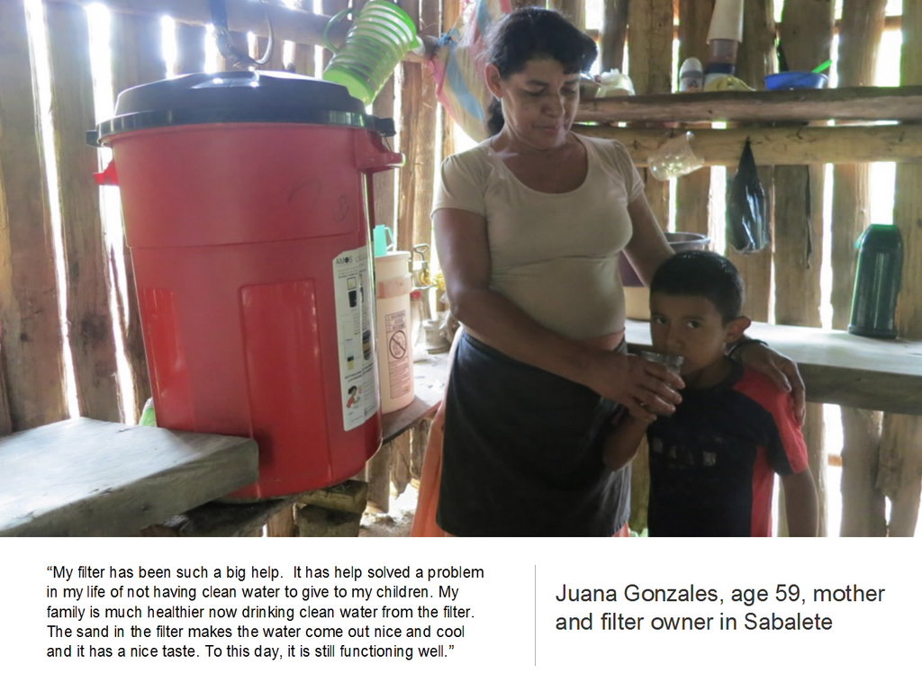 Provide Water Filtration to Families in Nicaragua