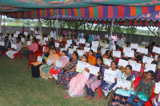 Provided Training Certificates