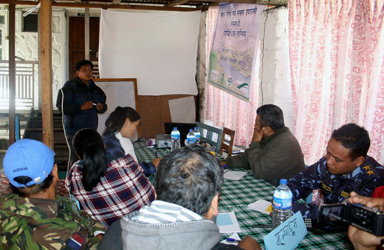 Training local youth and other stakeholders