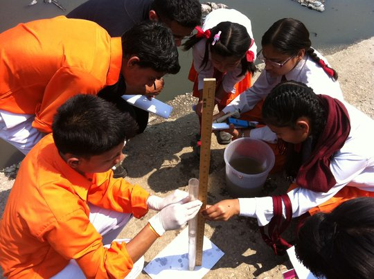 Empower Students to Learn Climate Change In Nepal