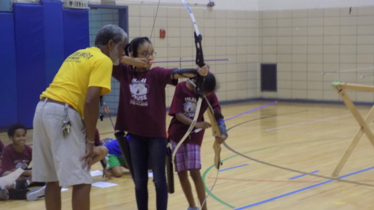 Archery with Coach Brown