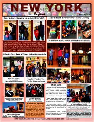 imanISpeaksNewsletter update on Children Program