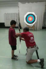 Archery - one of the many enriching activities!
