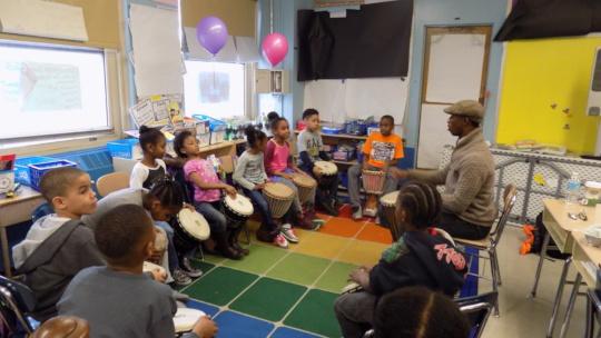Drummers in Kindergarten!