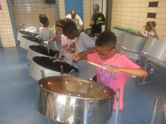 Drumming to the Beat with Steelpan