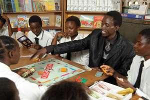 School Library in Zambia