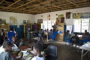 School Libraryin Zambia