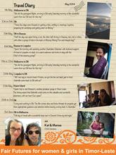 Fair Futures Travel Diary June 2014
