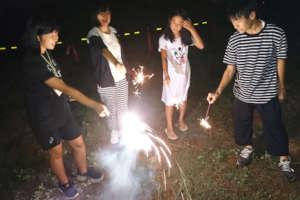 A little fireworks