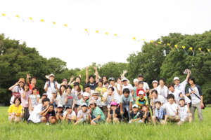 A kite chain experience (2012 summer)