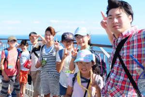 Exploring the Enoshima island