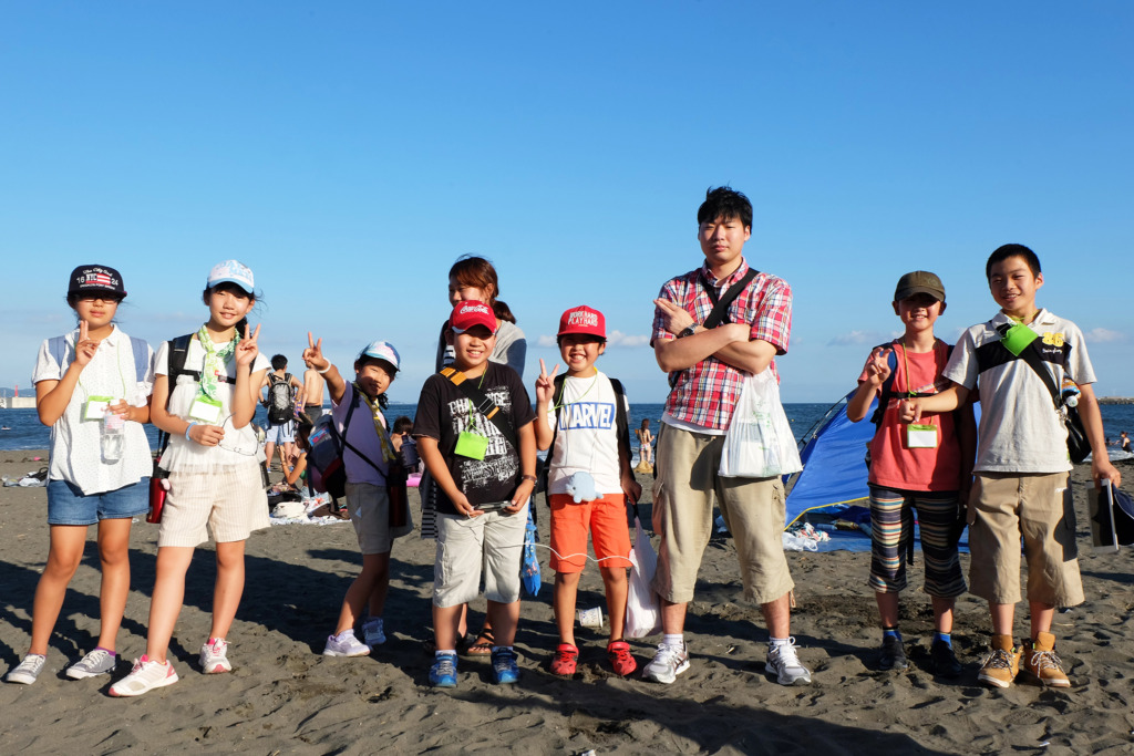 We will visit Enoshima Island and the beach again