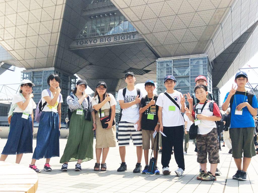 Visiting TOKYO BIG SIGHT to see Maker Faire Tokyo