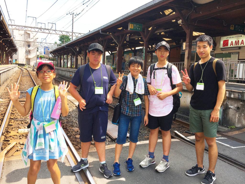 Excursion in Enoshima-Kamakura area