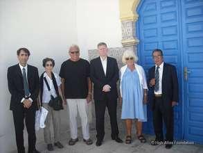 US Ambassador & HAF Team