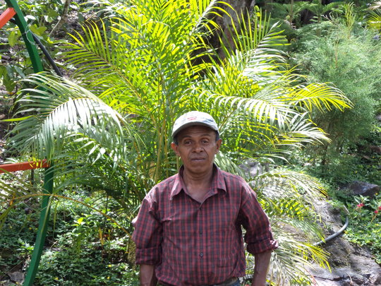 One of the farmers working with Tecnosol