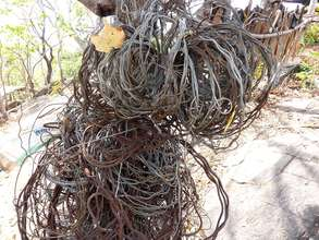 Collected wire snares