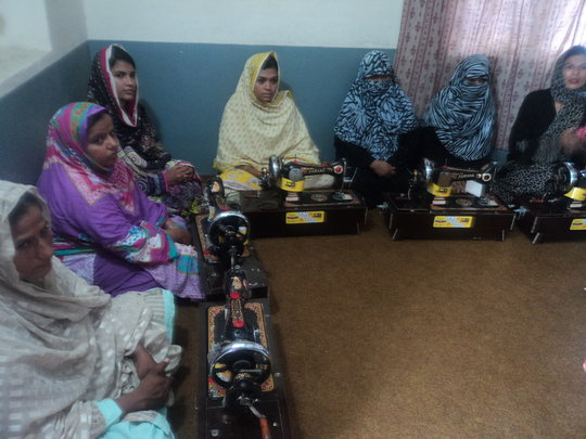 Active Help 100 Poor Women in Okara Pakistan