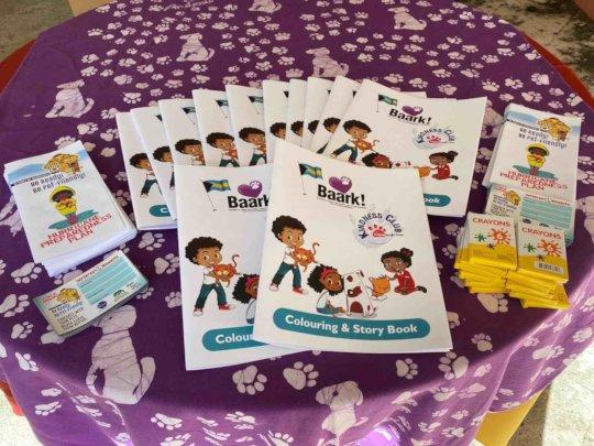 Baark!'s new colouring book