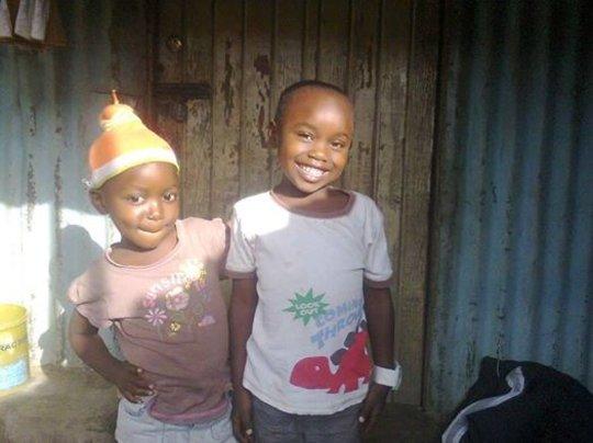 Abra (3) and Shivon (4), both parents died July