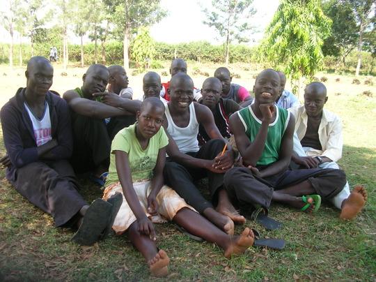 Good Samaritan secondary students