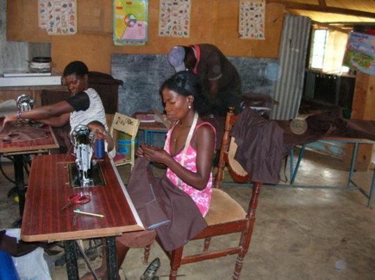sewing school uniforms