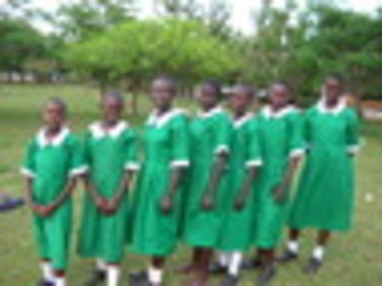New uniforms at Good Samaritan