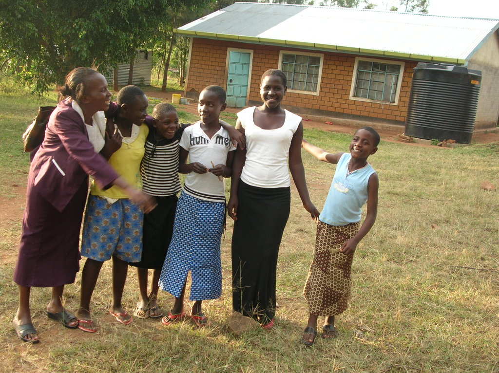 Provide a home and schooling for African orphans
