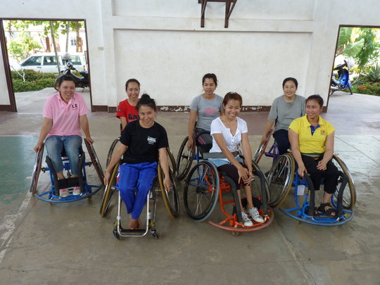 Disability Sports for Laos