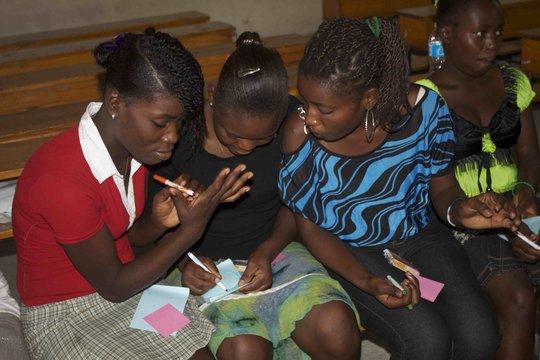 LitClub Girls Share Stories