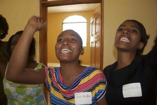 Singing Songs During a LitClub Leader Training