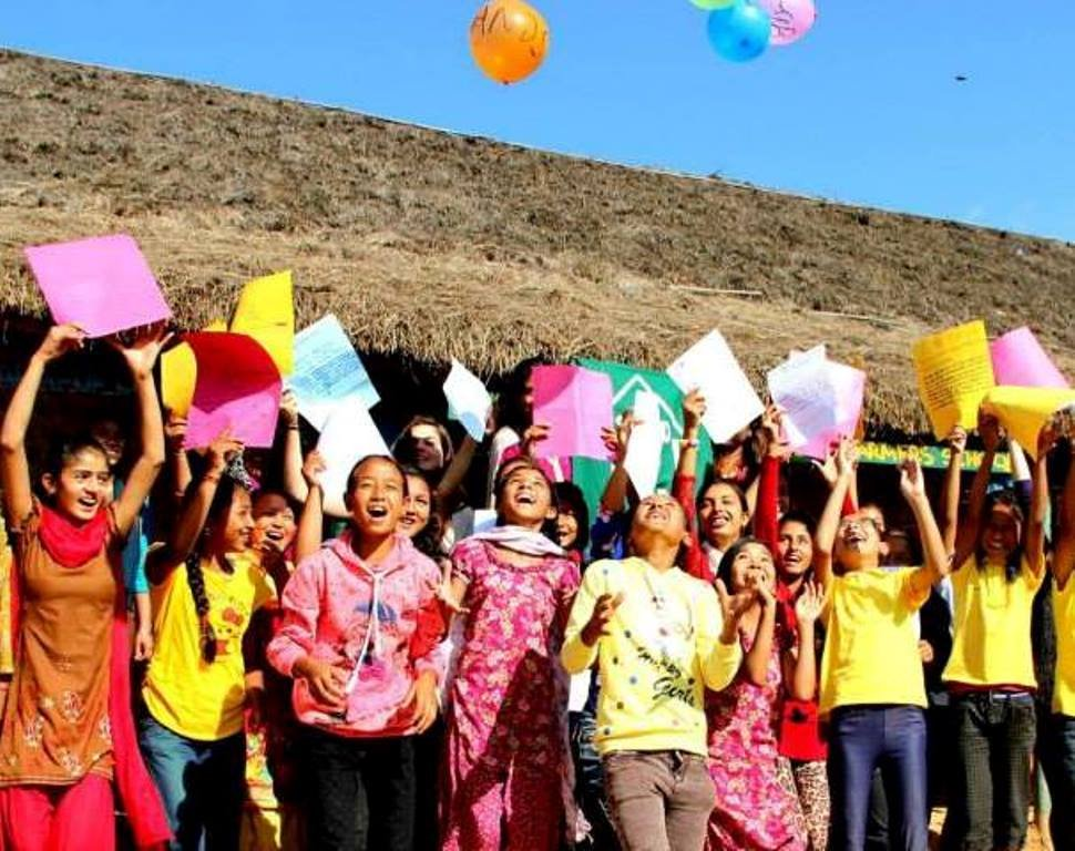 The Nepal Girls LitClub Story Summit