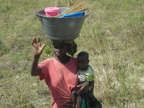 Mother and child in Mali