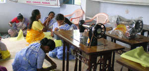 Provide sewing training to 30 poor women