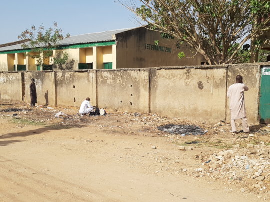 One of the beneficiary schools