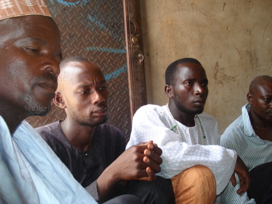 Members of the local community based organisation
