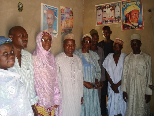 Group photograph with the chief imam and others