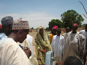 Project Leader handover to community