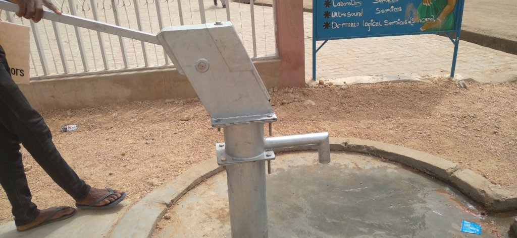 Tube well for a school