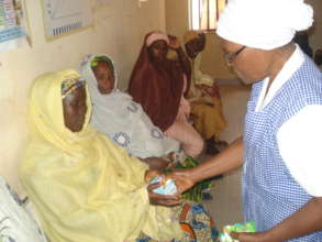 Hygiene Training & Distribution