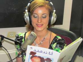 Journalist Ruba Warwar records Arabic audio books