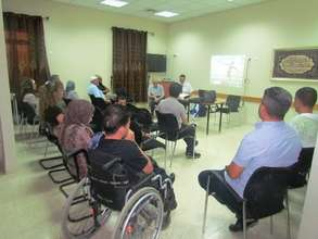 An Empowerment workshop for local disabled persons