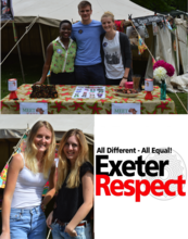 Celebrating diversity at the Respect festival!